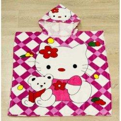 Полотенце пончо для детей «Kitty toys»
