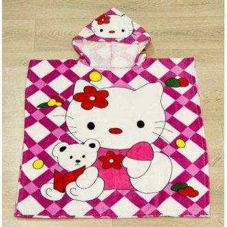 Полотенце пончо для детей First Choice Kitty toys