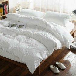 Льняное постельное бельё White