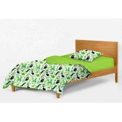 Детское постельное белье Cosas Dino green