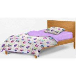 Детское постельное белье Cosas Owls violet