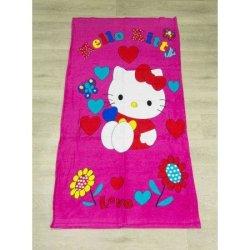 Детское пляжное полотенце Kitty
