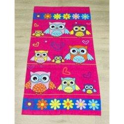 Детское пляжное полотенце Owl