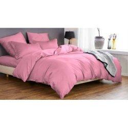 Постельное бельё Мако-сатин Розовый