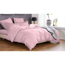 Постельное бельё Мако-сатин Светло-розовый