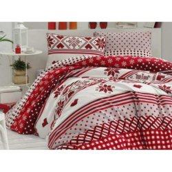 Фланелевое постельное белье First Choice евро Koko