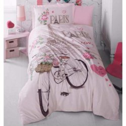 Подростковое постельное белье Paris Love