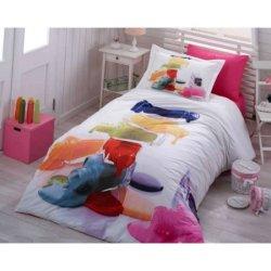 Полуторное постельное бельё Rainbow