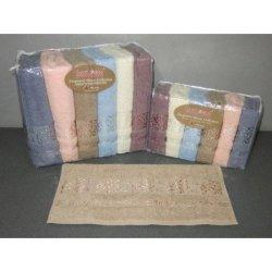 Набор махровых полотенец  «Sarmasik» Cotton