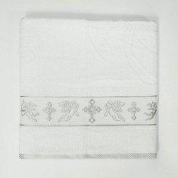 Крыжма для крещения Ангел серебро