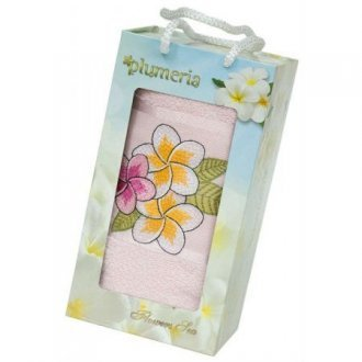 Полотенце в подарочной упаковке «Plumeria»