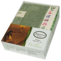 Набор для сауны женский Gursan Bamboo Green