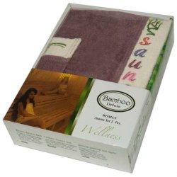 Набор для сауны женский Gursan Bamboo Plum
