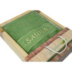Полотенце махровое «Sauna Green»