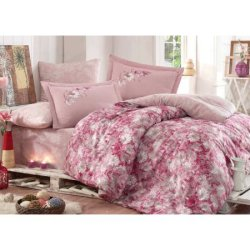 Постельное бельё Hobby Exclusive Sateen Romina розовое