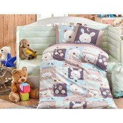 Детское постельное Snoopy мятное