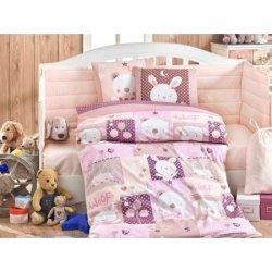 Детское постельное Snoopy розовое