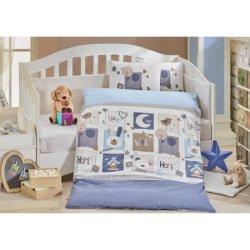 Детское постельное Sweet Home голубой