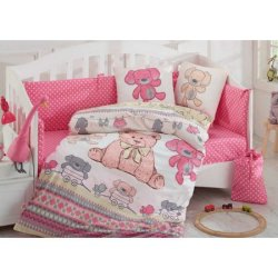 Детское постельное Tombik розовый