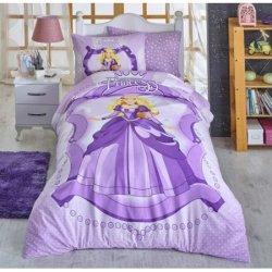 Детское постельное бельё Princess сиреневое