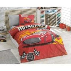 Детское постельное бельё Racing красный
