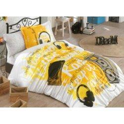 Детское постельное бельё Love Music жёлтый