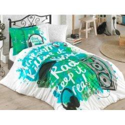 Детское постельное бельё Love Music зелёный