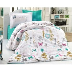 Детское постельное бельё Rossela бирюзовое