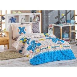 Детское постельное бельё Skateboard синий