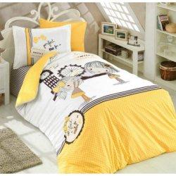 Детское постельное бельё Smile жёлтый