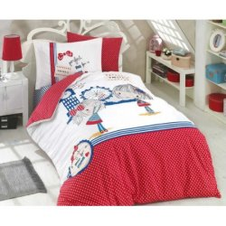 Детское постельное бельё Smile красный