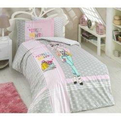 Детское постельное бельё Street Fashion серое