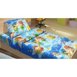 Детский комплект постельного белья Амуры