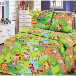 Детский комплект постельного белья «Весела ферма»