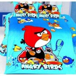 Детское постельное белье «Angry Birds» Red
