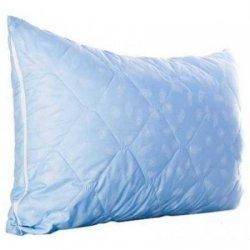 Чехол стёганый на подушку голубой