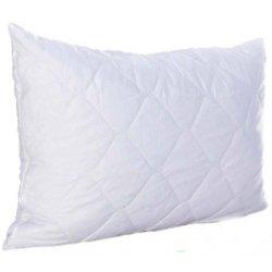 Чехол стёганый на подушку белый