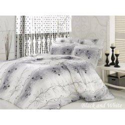 Евро комплект постельного белья «Black and White»