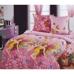Полуторный детский комплект постельного белья «Красотки»