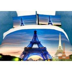 Постельное бельё 3D Париж