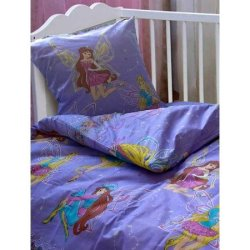 """Постельное белье в детскую кроватку """"Феи"""""""