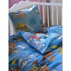 Постельное бельё в детскую кроватку «Патруль»