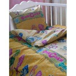 Детское постельное белье в кроватку Фиксики