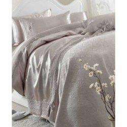 Элитное постельное бельё Karaca Home + пике Tugce Vizon