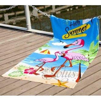 Пляжное полотенце Flamingo