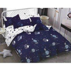 Подростковое постельное белье «Космическая база»