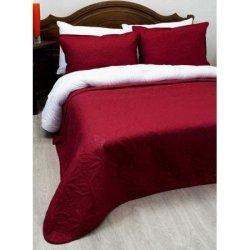 Стёганое покрывало на кровать Lotus Broadway Бордо