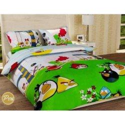 Детское постельное белье «Злые птички»