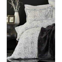 Постельное бельё + плед Tierra Siyah Beyaz
