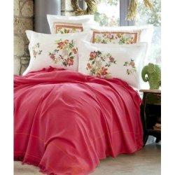 Элитное постельное бельё Karaca Home + пике Siena Fusya